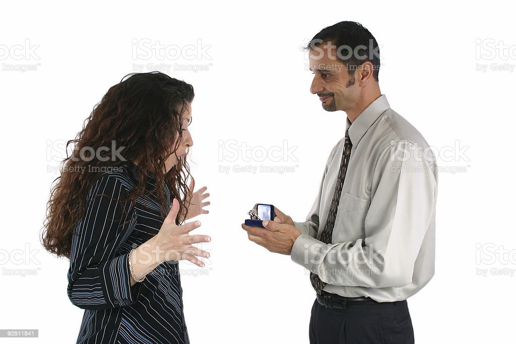 Big Proposal royalty-free stock photo