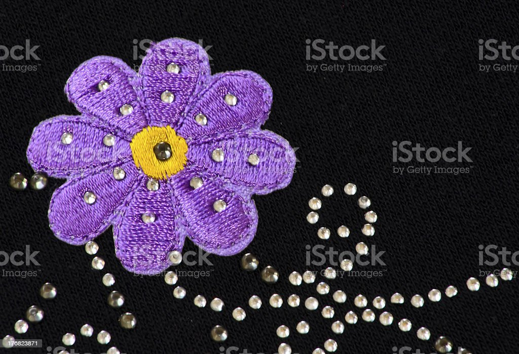 Big Purple Flower royalty-free stock photo