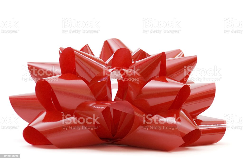 Big Red Bow royalty-free stock photo
