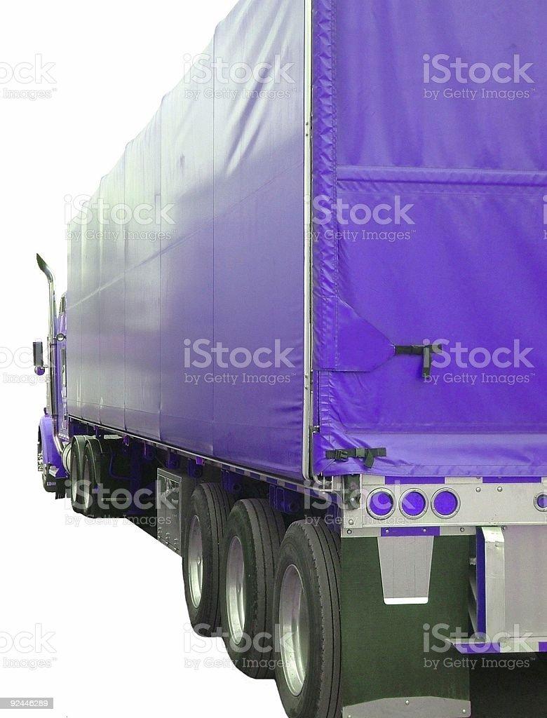 Big Rig (blue) royalty-free stock photo