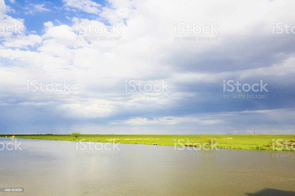 Big river royalty-free stock photo