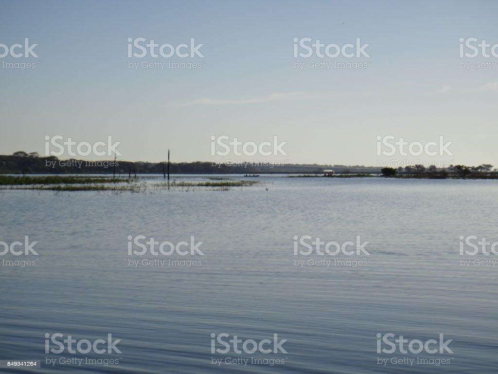 Big river stock photo