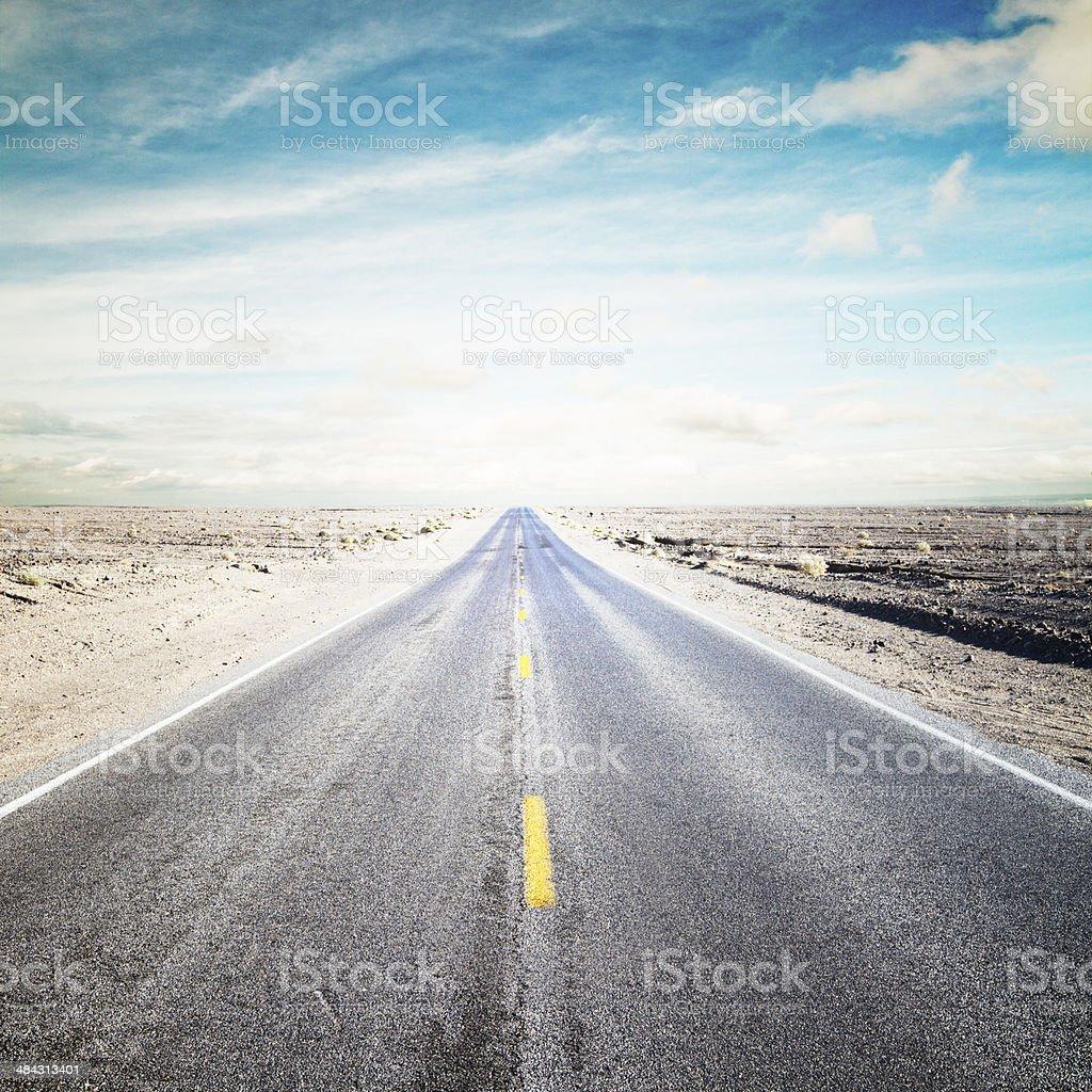 big road stock photo