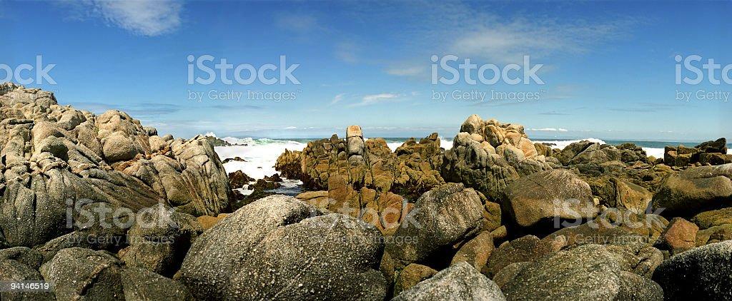 Big Rock Beach royalty-free stock photo