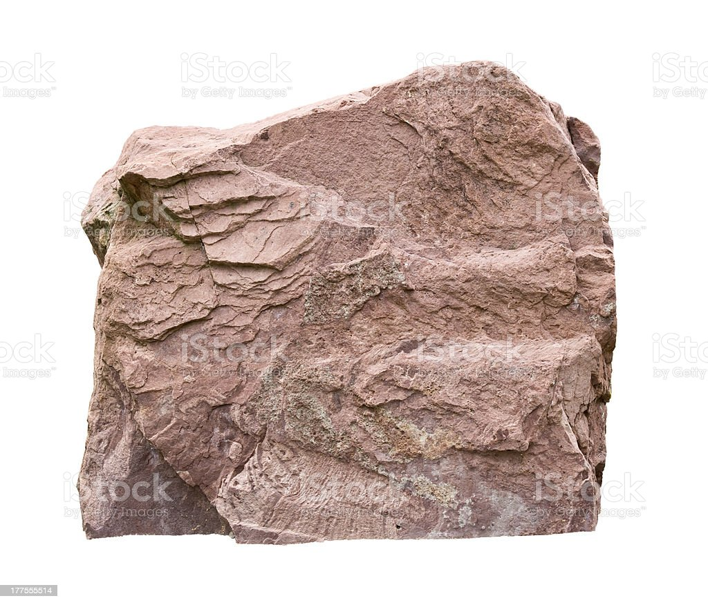 big rock stock photo