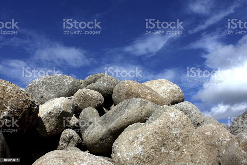 Big Rocks stock photo