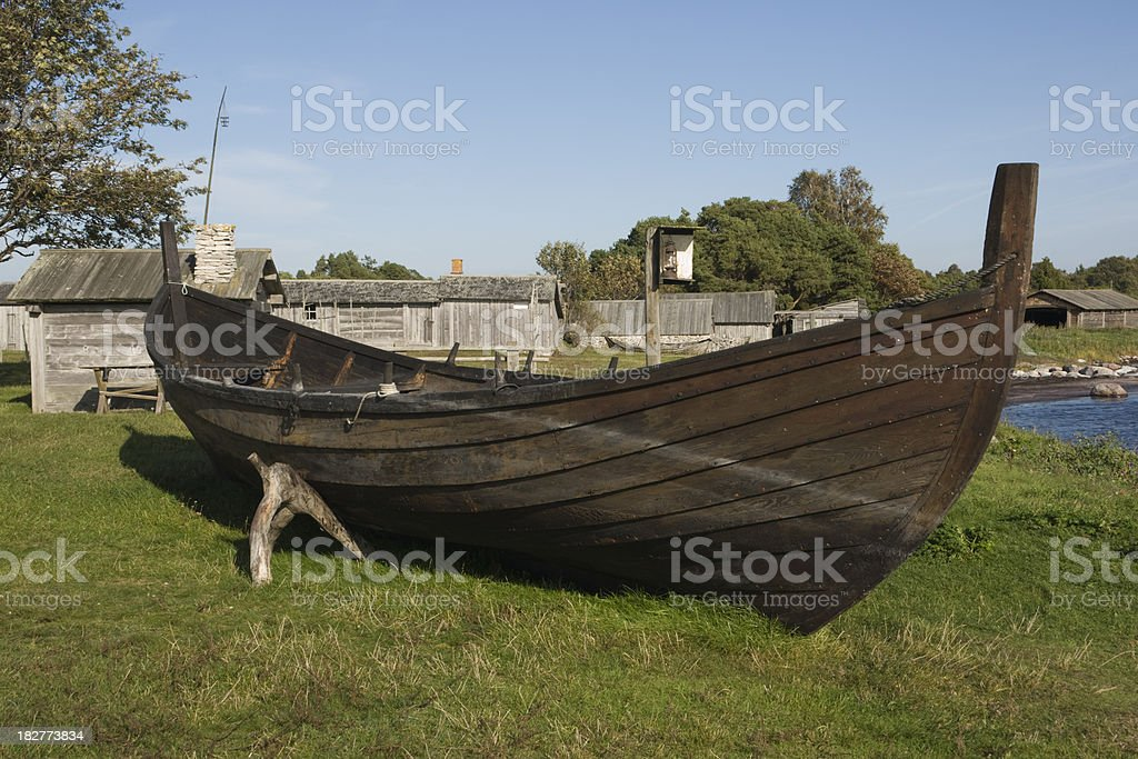 Big Rowboat royalty-free stock photo