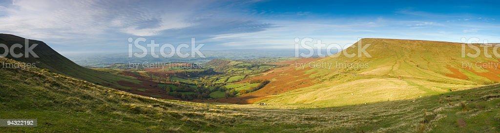 Big rural view royalty-free stock photo