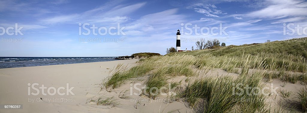 Big Sable Point Lighthouse stock photo