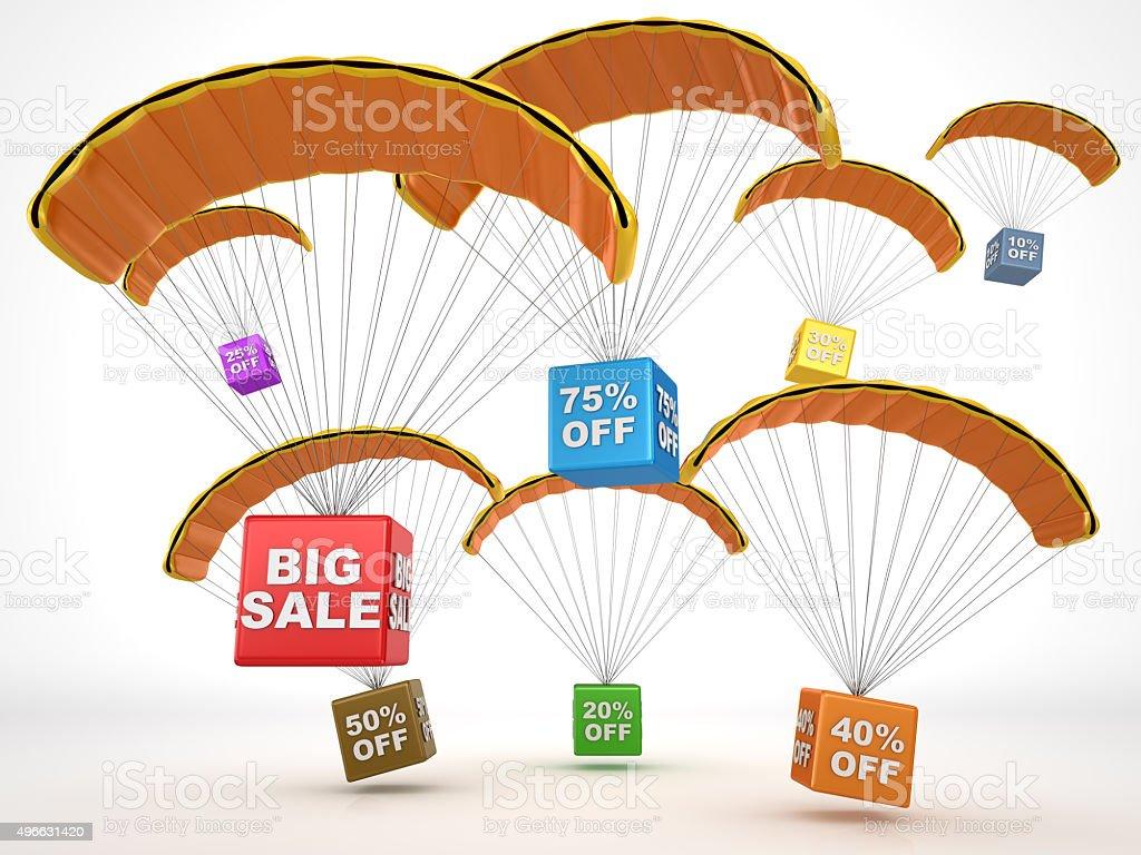 Big sale concept stock photo