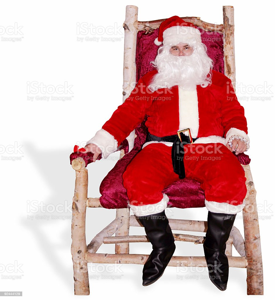 Big Santa stock photo