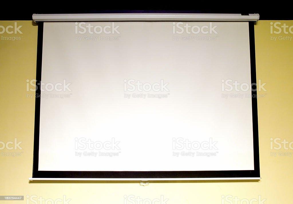 Big Screen royalty-free stock photo