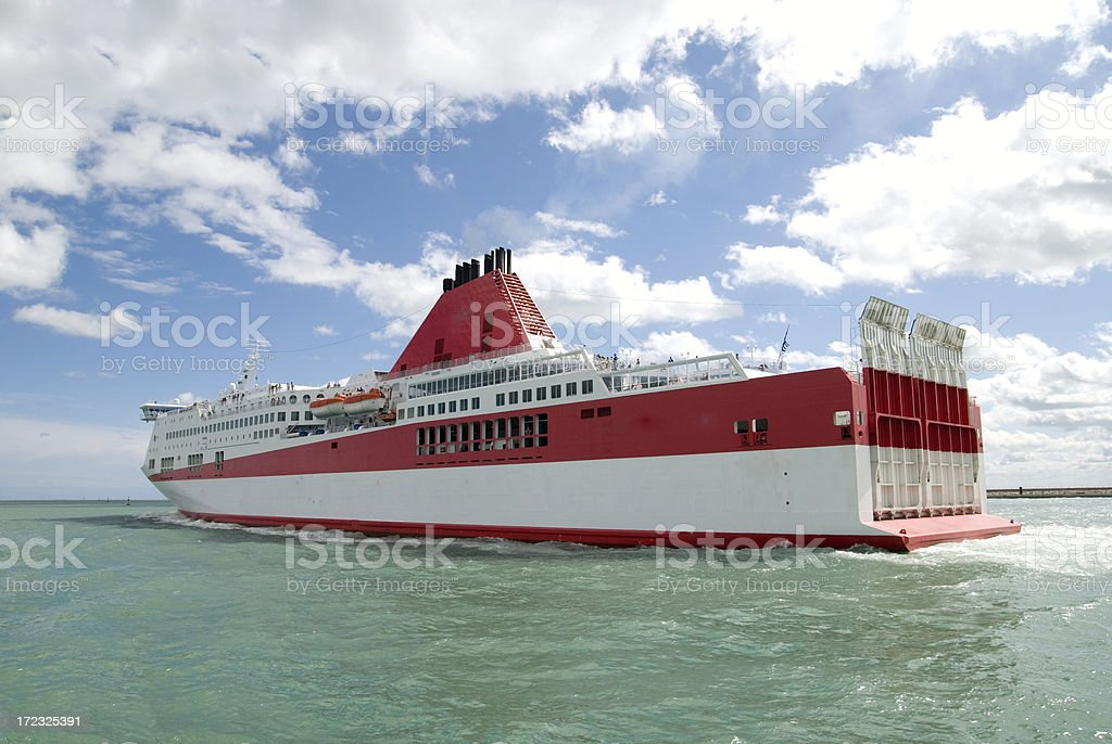 Big ship - ferry boat royalty-free stock photo
