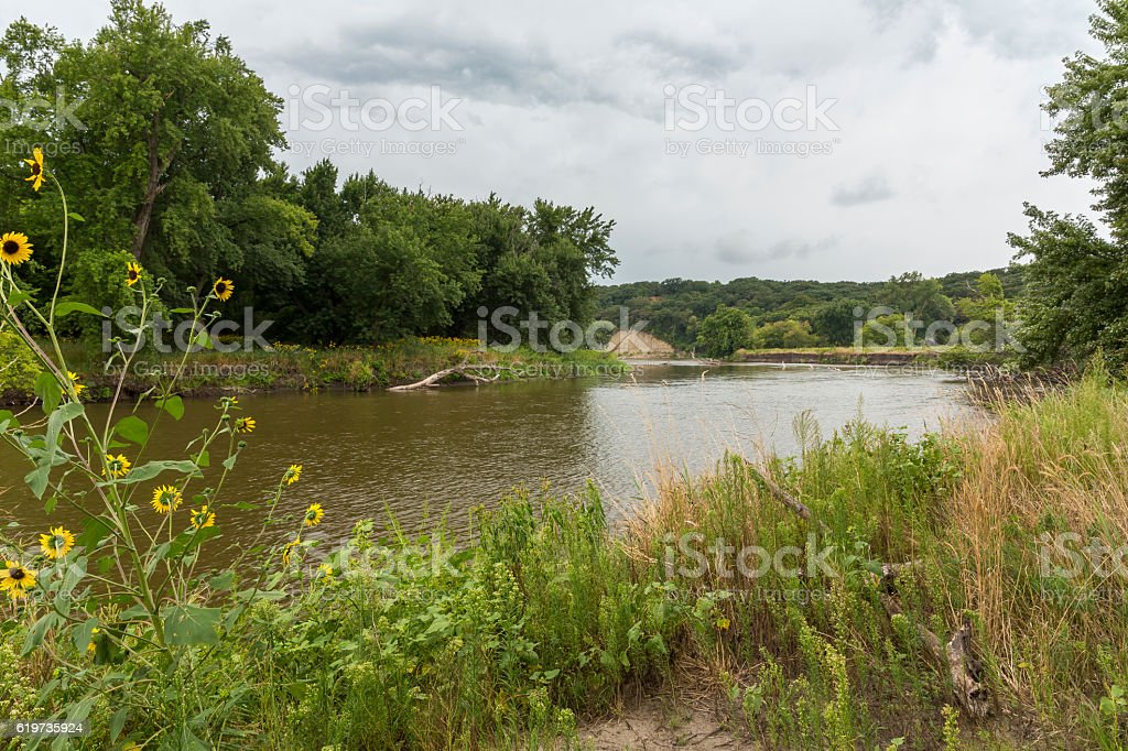 Big Sioux River stock photo