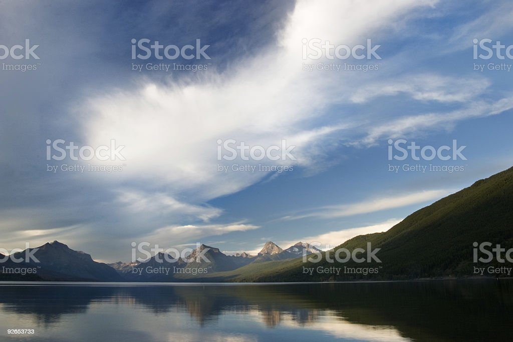 Big Sky Country royalty-free stock photo