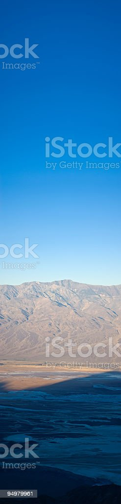 Big sky desert high royalty-free stock photo