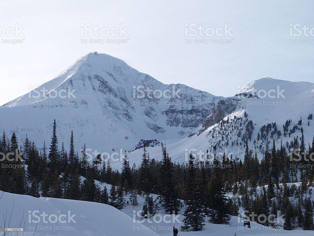 Big Sky Montana 2 stock photo