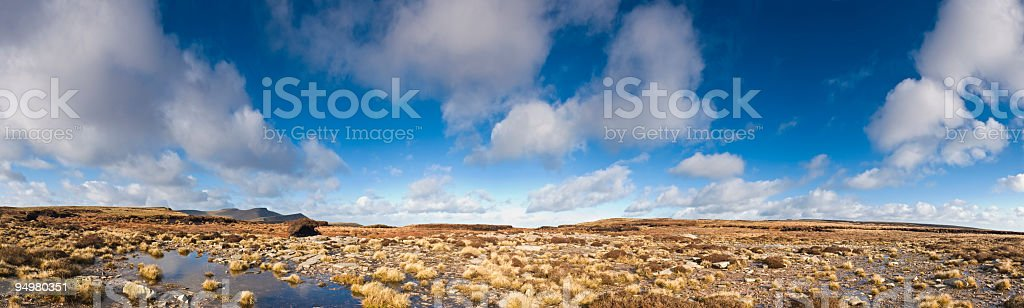 Big sky over wild country royalty-free stock photo
