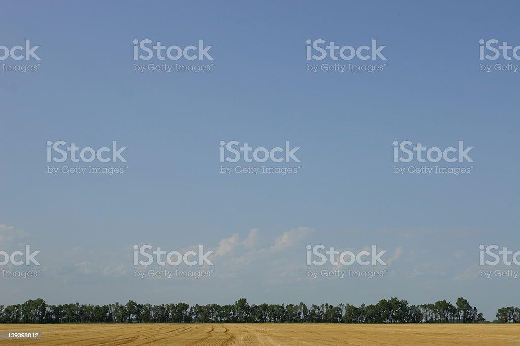 Big Sky royalty-free stock photo