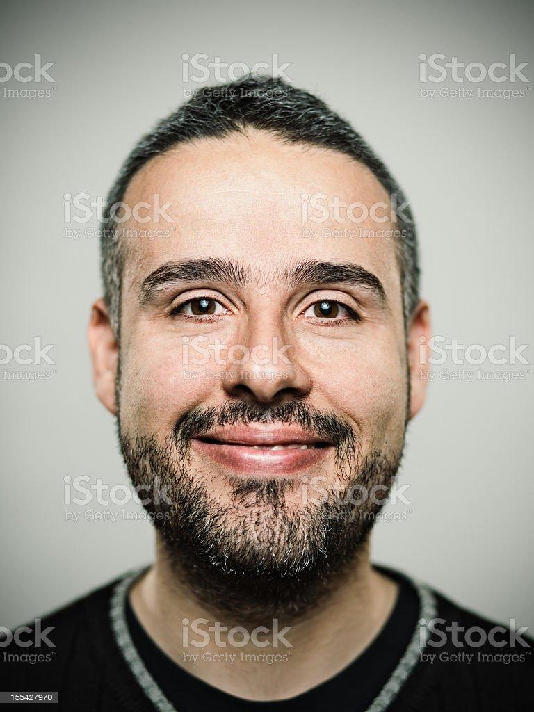 Big smile stock photo