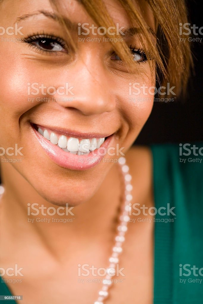 big smile royalty-free stock photo