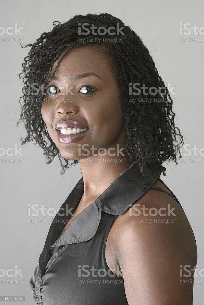 Big Smile Woman royalty-free stock photo