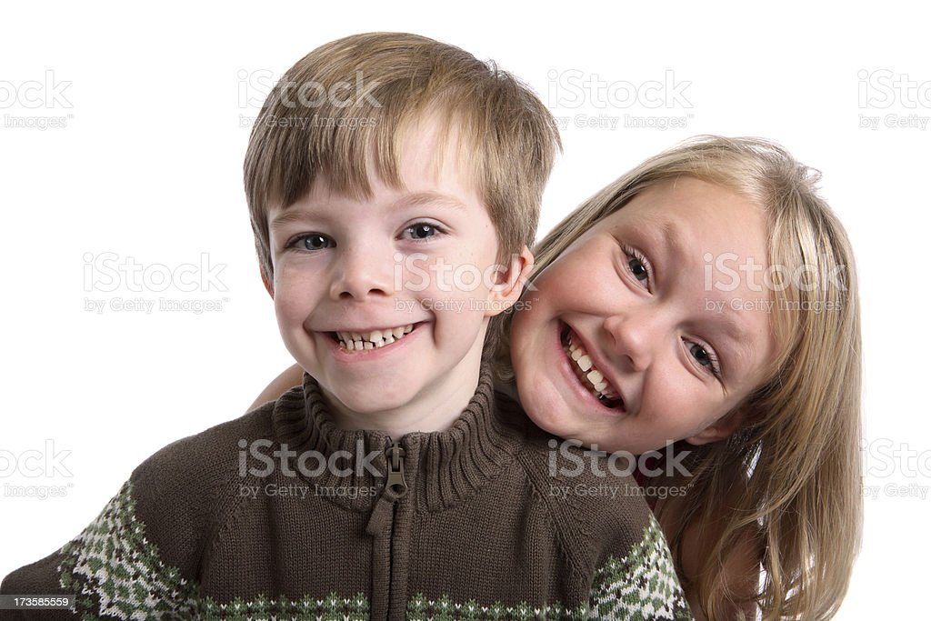 Big smiles. royalty-free stock photo