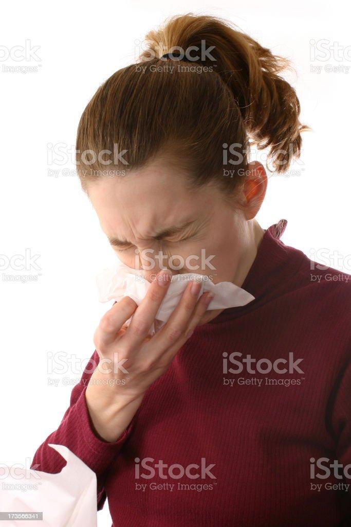 Big Sneeze royalty-free stock photo