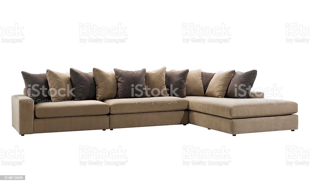 Big sofa stock photo