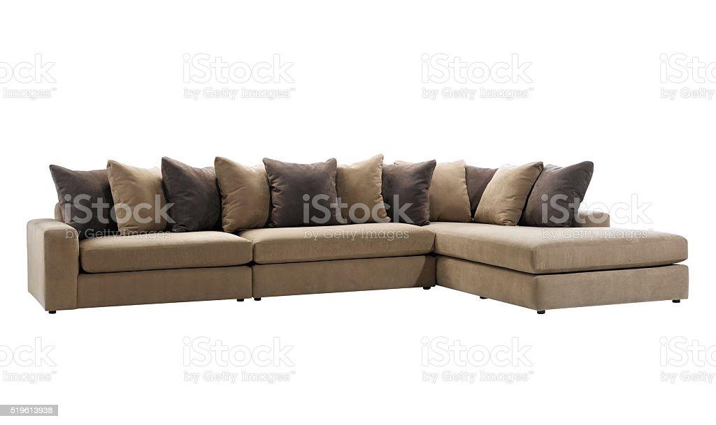 Big sofa stock photo