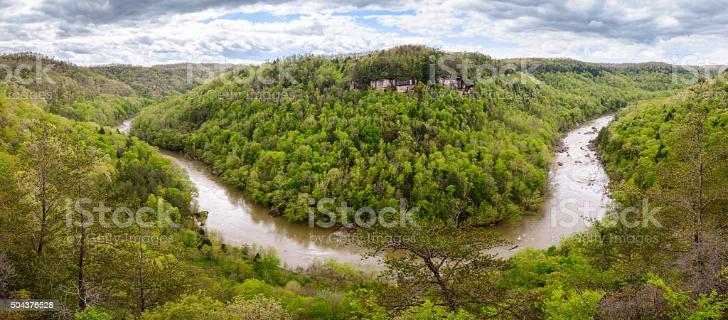 Big South Fork National River and Recreation Area stock photo