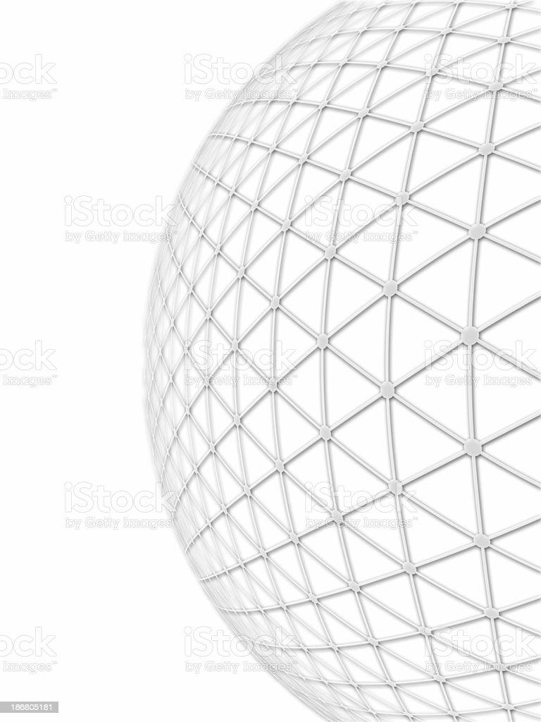 Big Sphere royalty-free stock photo