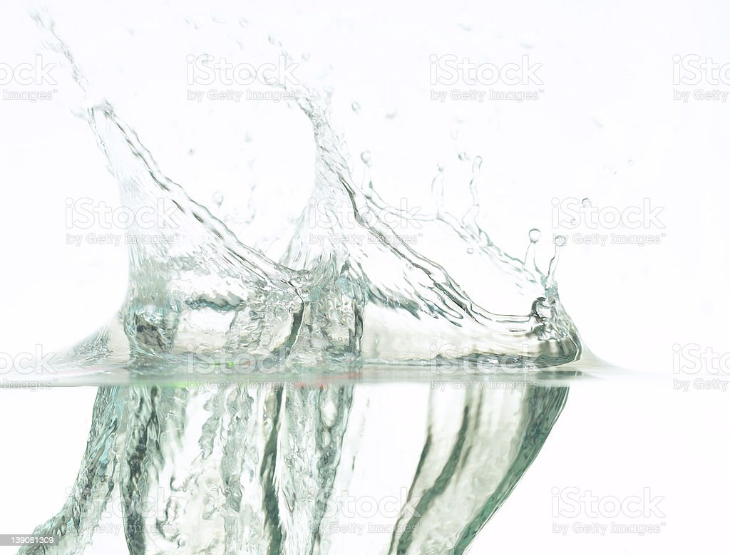 Big Splash royalty-free stock photo