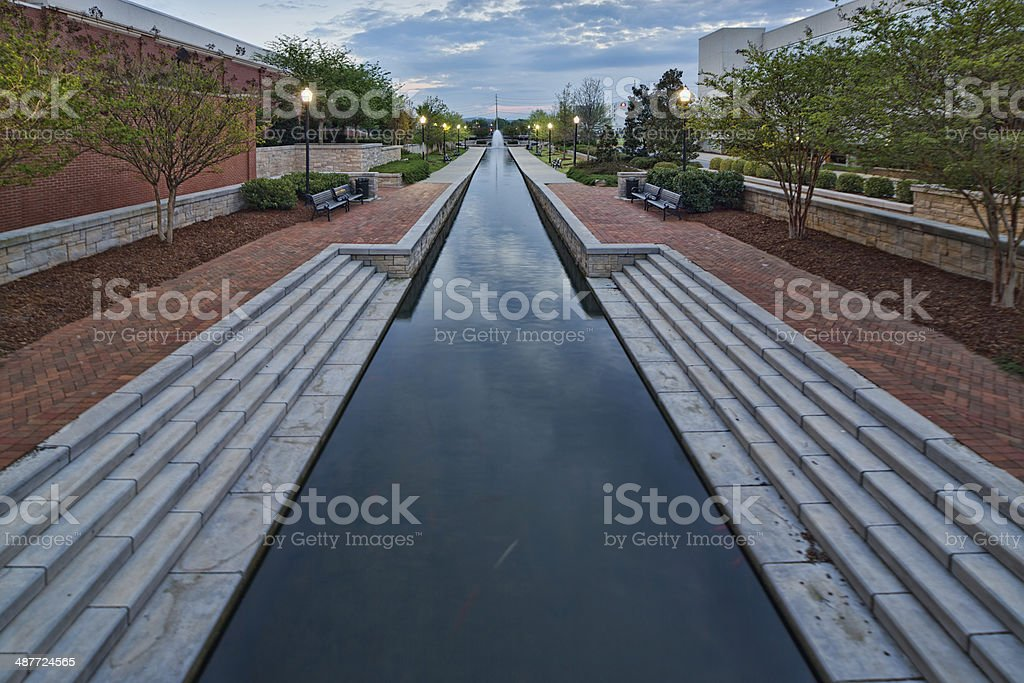 Big Spring Park Canal stock photo