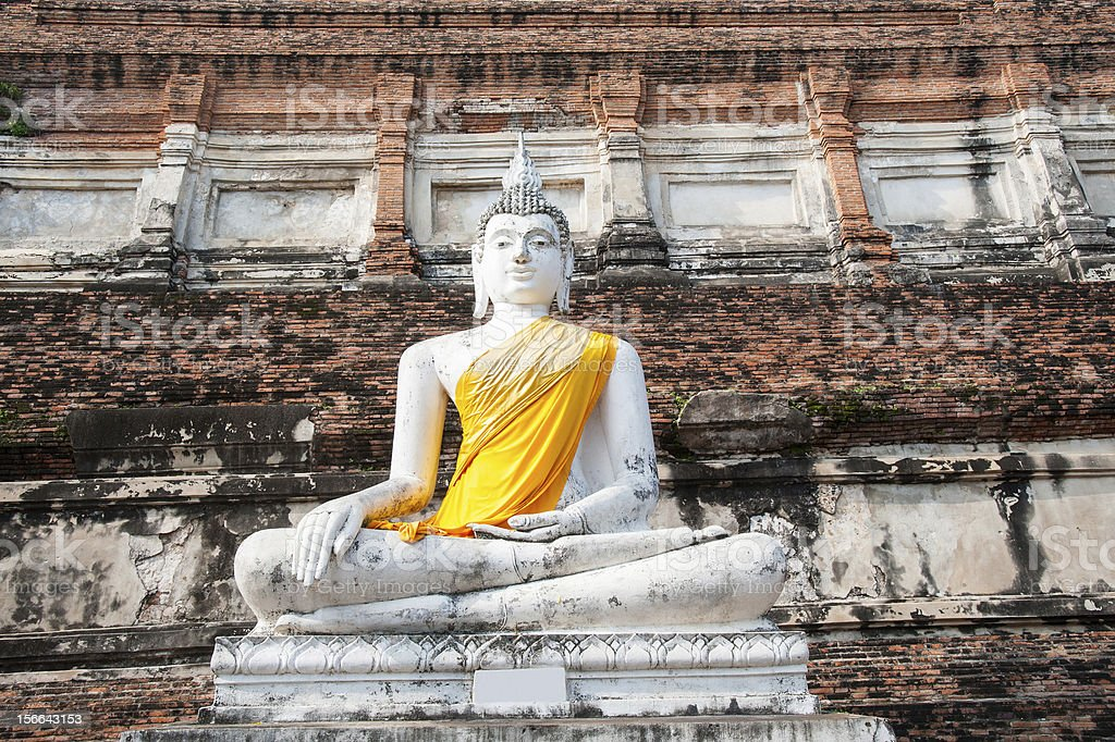 big Statue of Buddha royalty-free stock photo