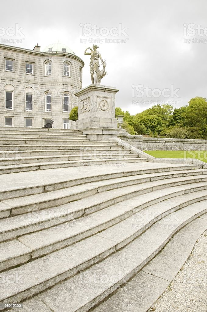 big stone classic stairs royalty-free stock photo