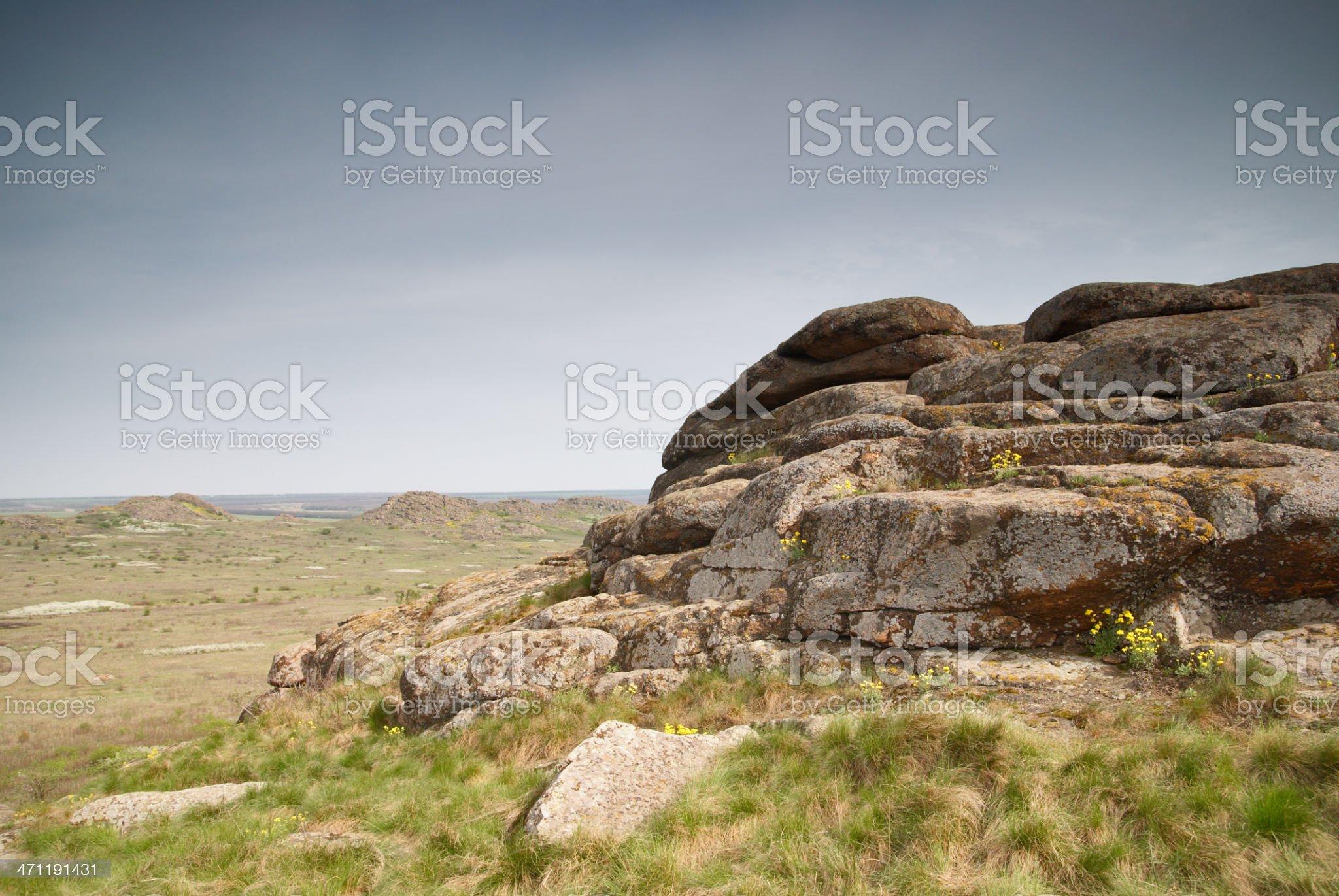 big stones royalty-free stock photo
