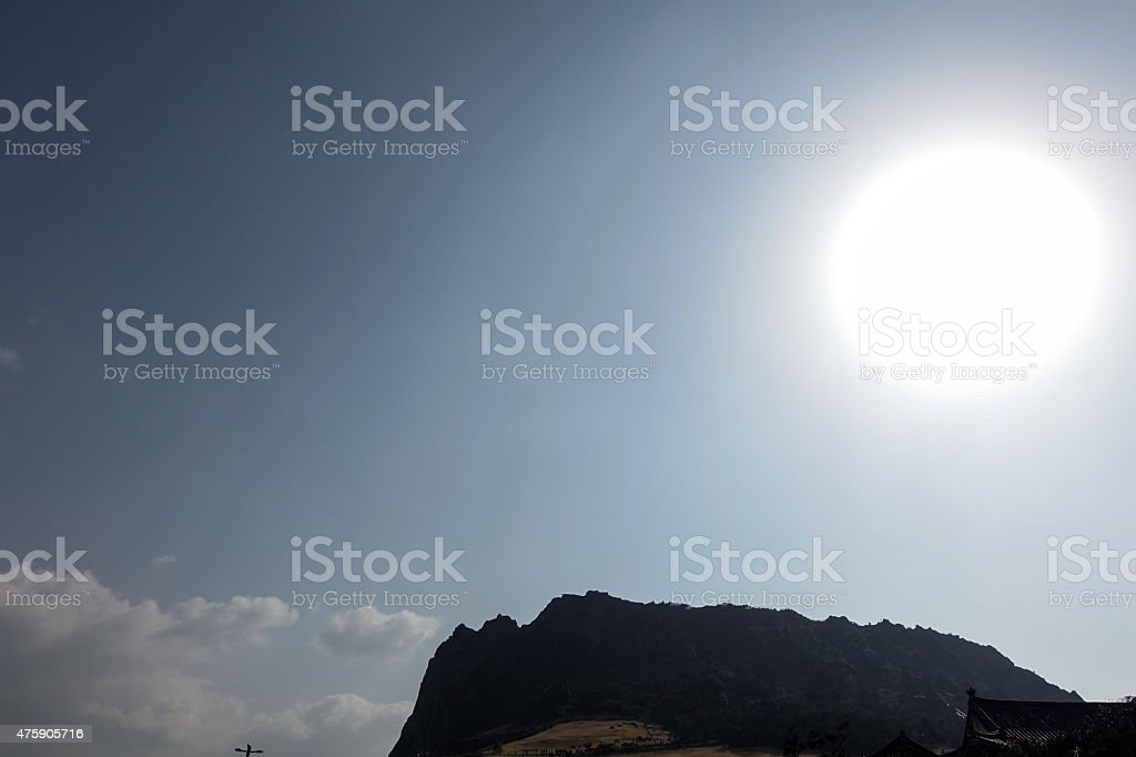Big Sun stock photo