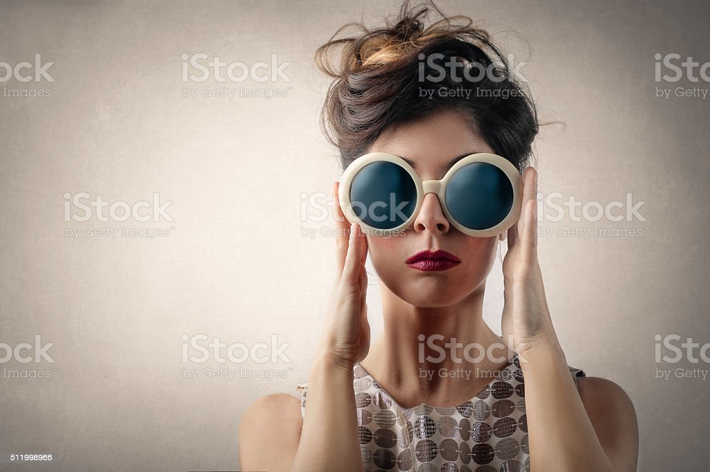 Big Sunglasses stock photo