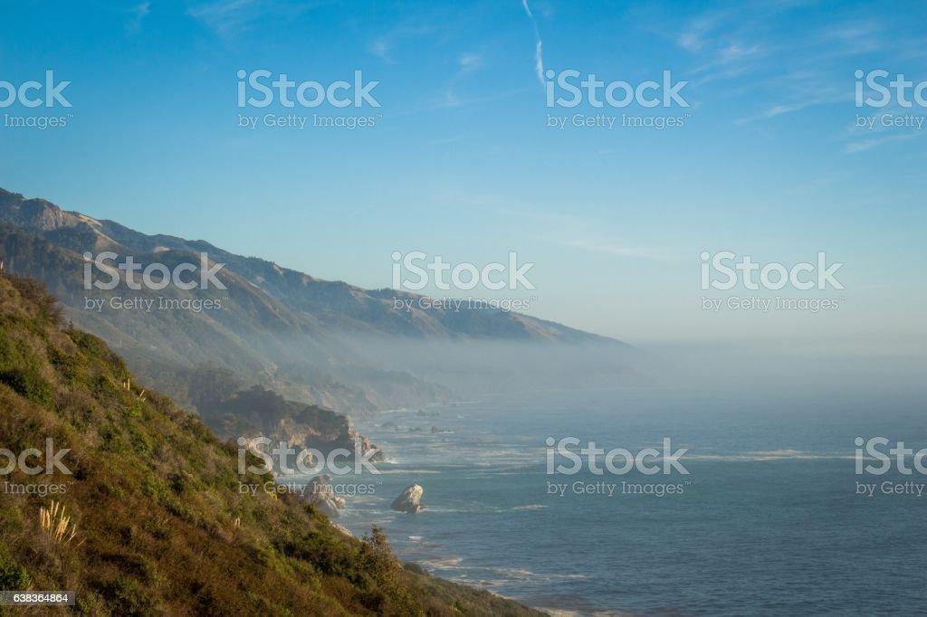 Big Sur Calfornia Coast stock photo