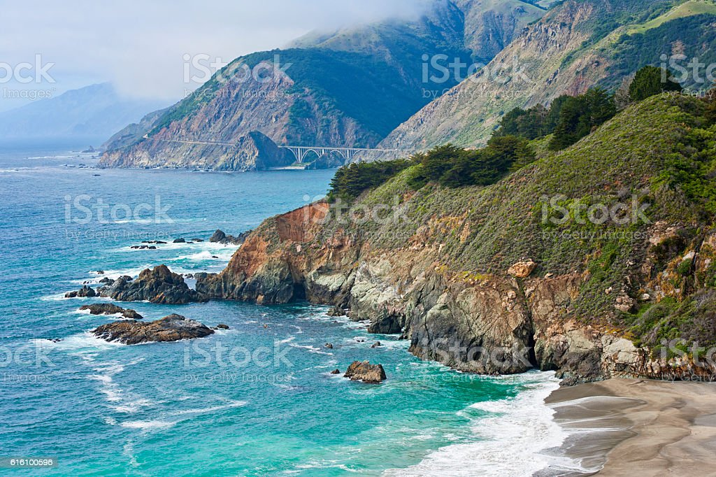 Big Sur California stock photo