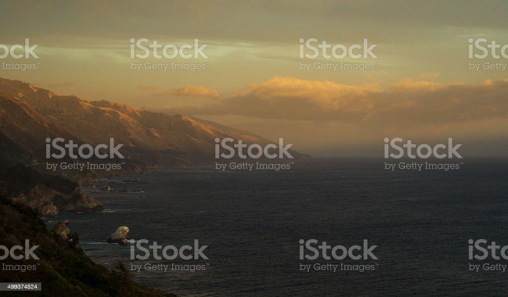 Big Sur: Californian Coastline stock photo