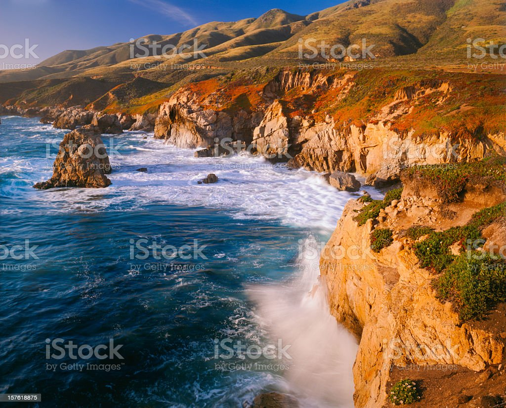 Big Sur Coast Of California stock photo