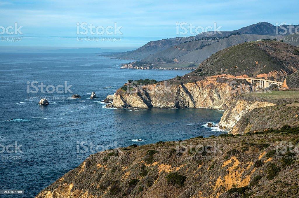 Big Sur coast stock photo