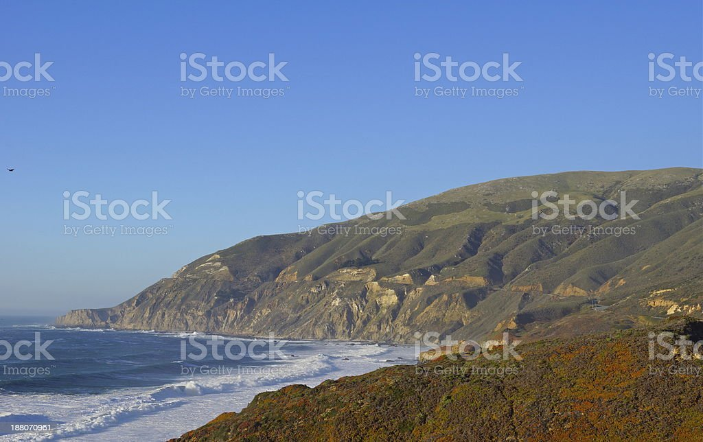 Big Sur Highway 1 stock photo