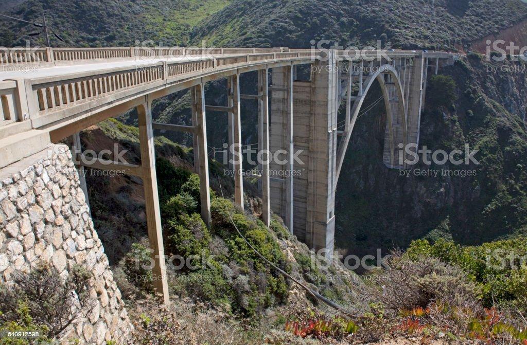 Big Sur in California stock photo