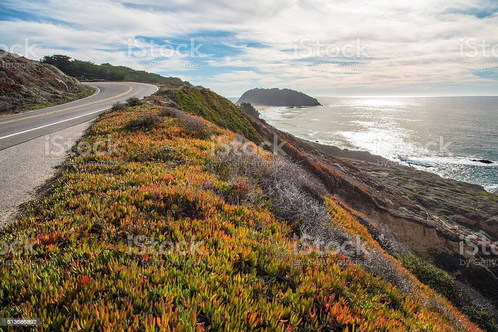 Big Sur - Monterrey coast stock photo