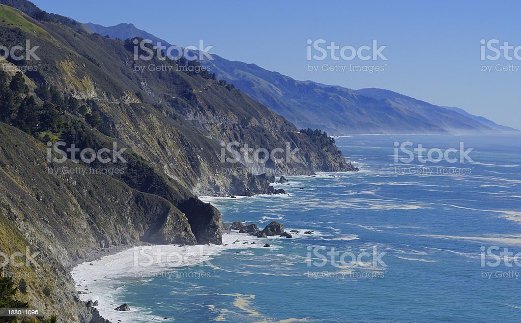 Big Sur Turquoise stock photo