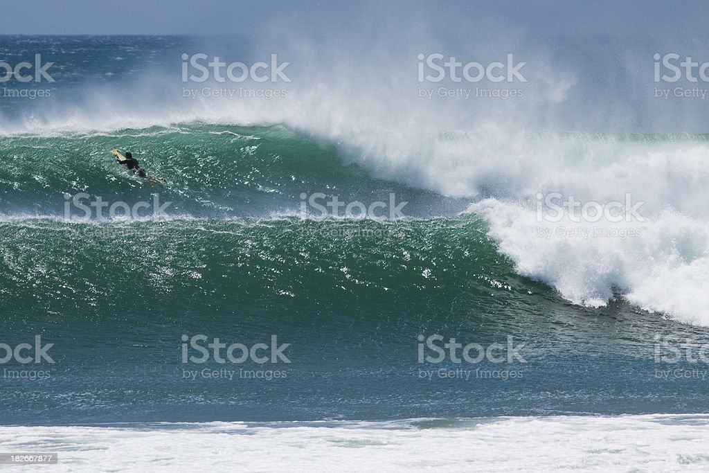 big surf royalty-free stock photo
