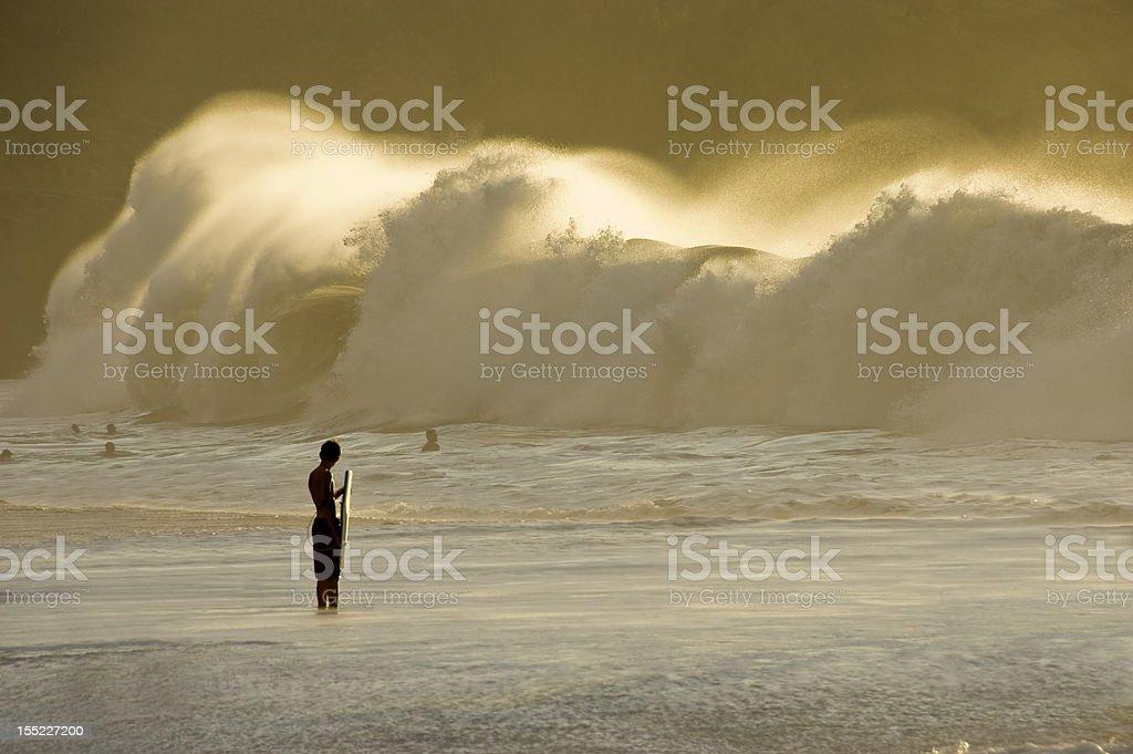 Big Swell. stock photo